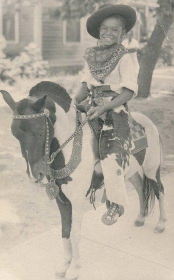 Frank on a pony
